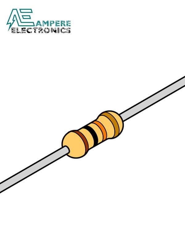 Carbon Resistor 220 ohm 1/4W – 10x Resistors