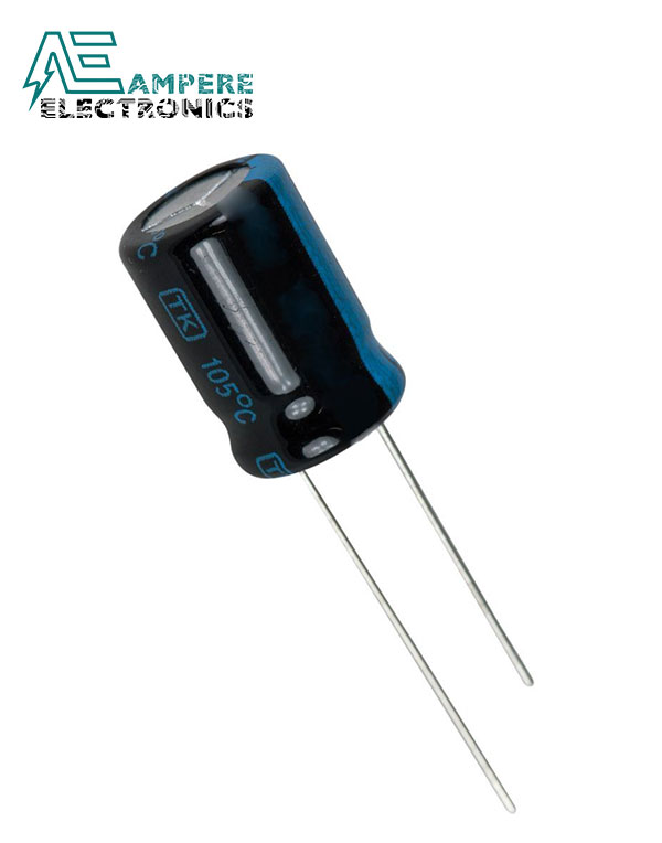 Electrolytic Capacitor 100uF 16v
