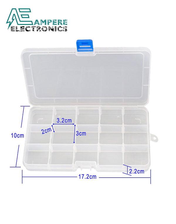 Plastic Fliptop Box (17*10*2cm)
