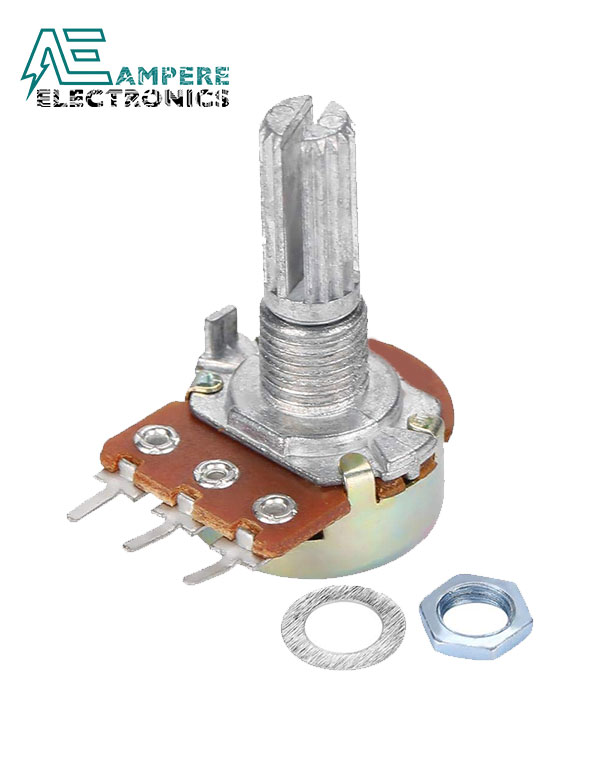1Mohm Linear Taper Rotary Potentiometer