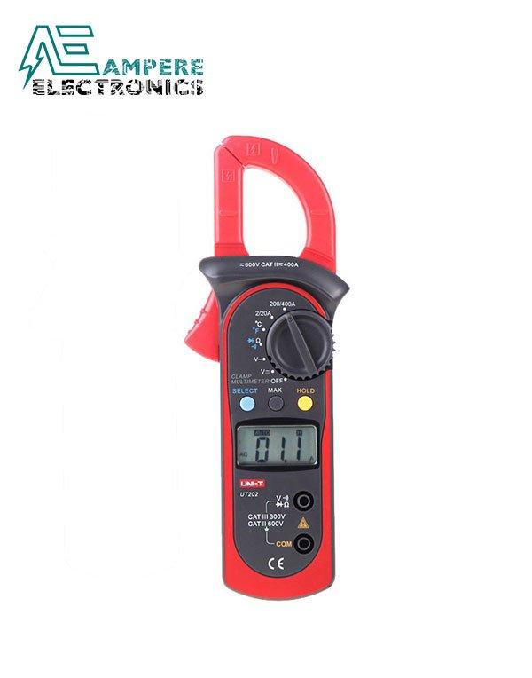 UT202 Digital Clamp Meter 400-600A | UNI-T