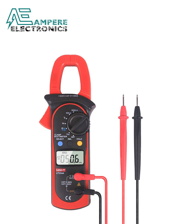 UT204A Digital Clamp Meter 400-600A | UNI-T
