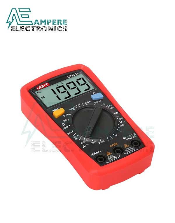 UT33C Plus Digital Multimeter Palm Size | UNI-T