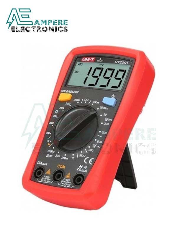 UT33D Plus Digital Multimeter Palm-Size  UNI-T
