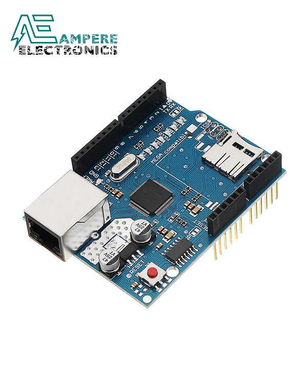W5100 Ethernet Shield For Arduino Uno