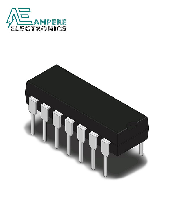 IR2112, High and Low Side MOSFET and IGBT Driver, 14-Pin, PDIP