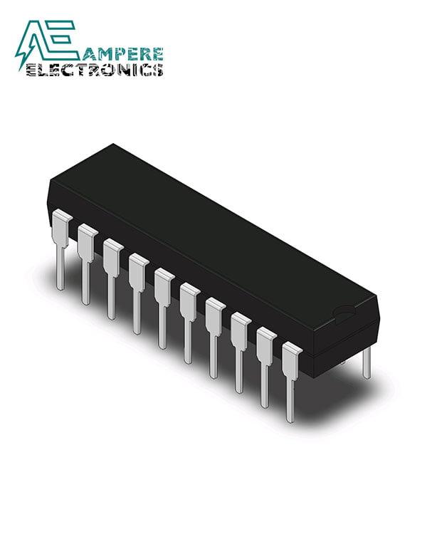 DAC0808LCN Digital-to-Analog Converter, 20-PDIP