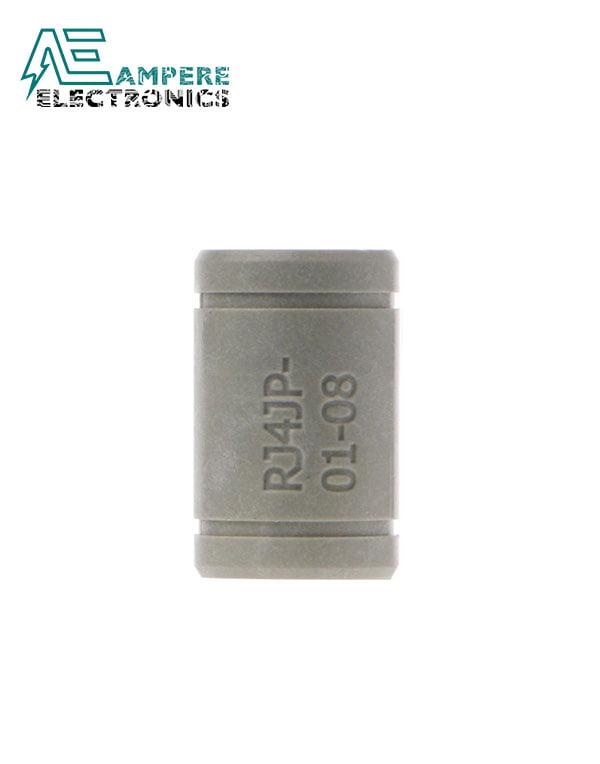 RJ4JP-01 Drylin Solid Polymer Bearing 8mm shaft