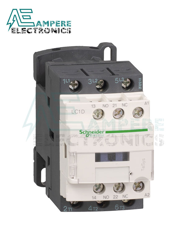 LC1D25M7 – TeSys D contactor – 3P(3 NO) – AC-3 – <= 440 V 25 A - 220 V AC coil, Schneider Electric