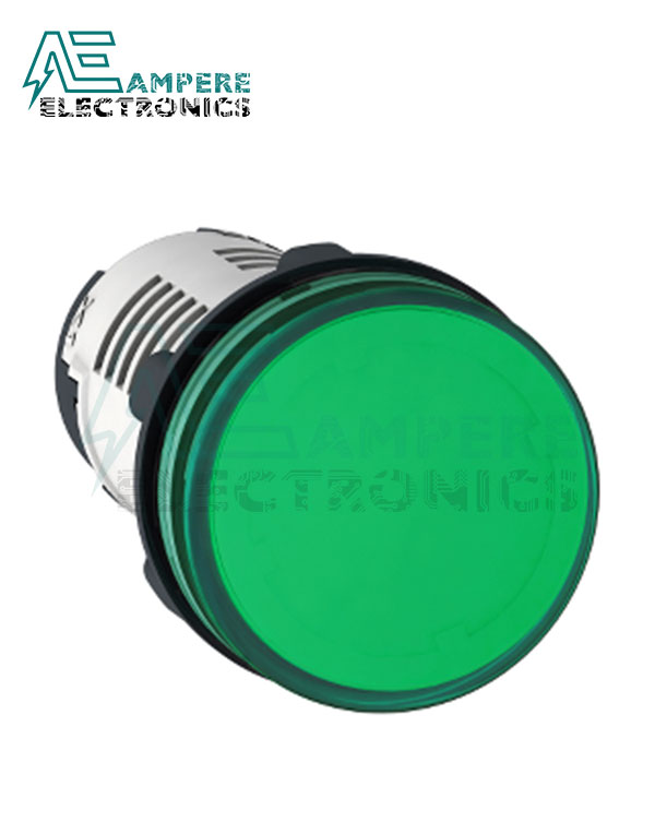 XB7EV04MP – Green LED Indicator Light, Ø22, 230 Vac, Schneider Electric