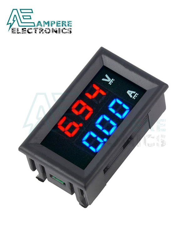 100Vdc – 10A Voltmeter Ammeter Panel