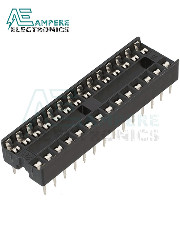 28-Pin DIP IC Socket