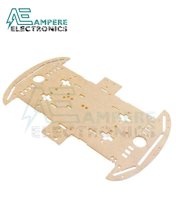 4WD Acrylic Plate Panel For Smart Car Chassis