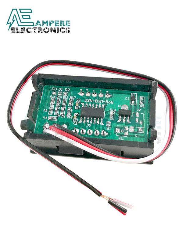 99Vdc LED Voltmeter Display Panel