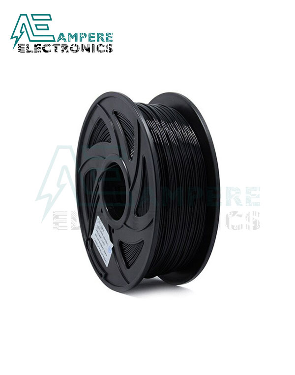 Black Color PLA Filament 1.75mm – 1kg/Roll