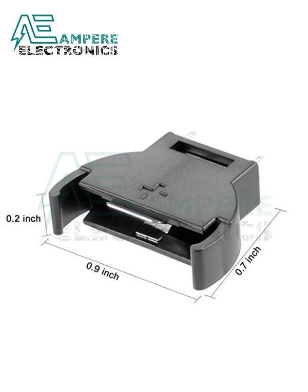 CR2032 – 3V Battery Holder Vertical PCB Mount