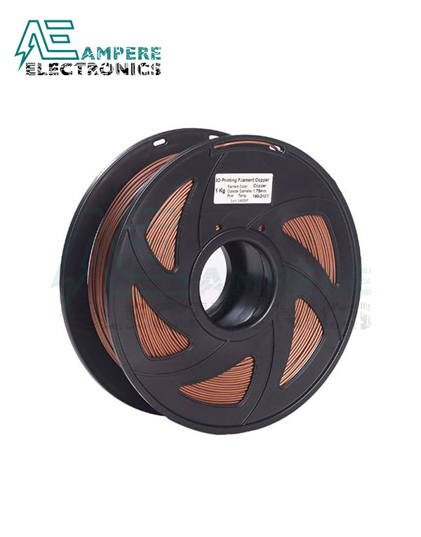 COPPER Color PLA Filament 1.75mm – 1kg/Roll
