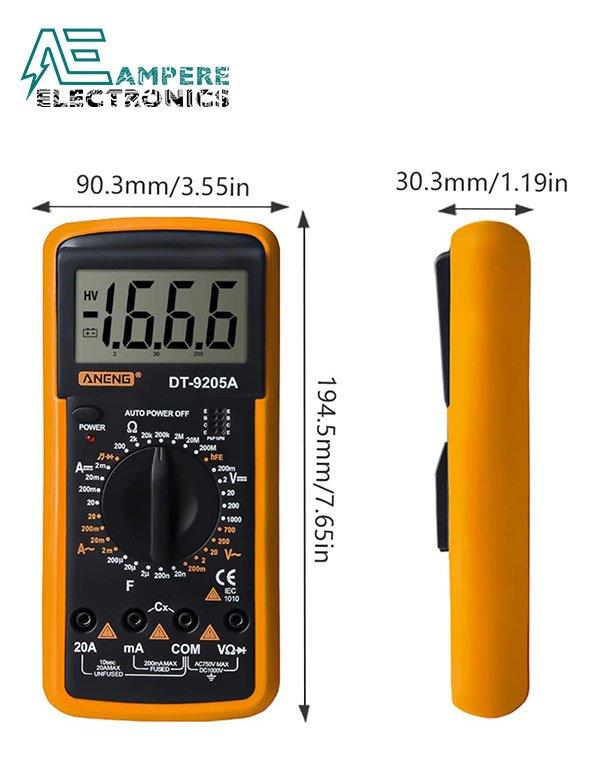 DT-9205A Digital Multimeter