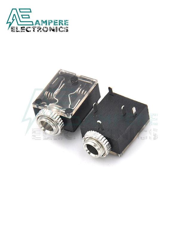 Female Stereo Audio Plug 5-Pin (3.5mm) , DIP