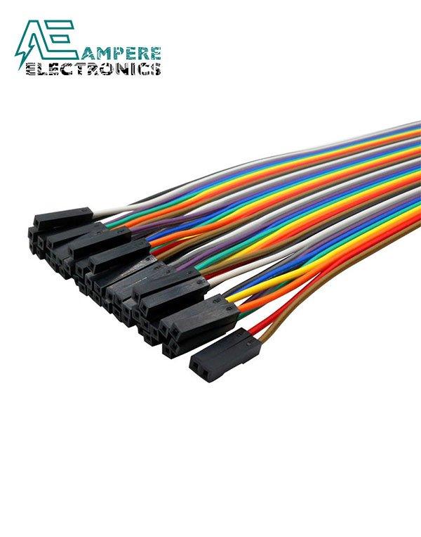 Female to Female – 20cm 40 Pin Jumper Wire Set