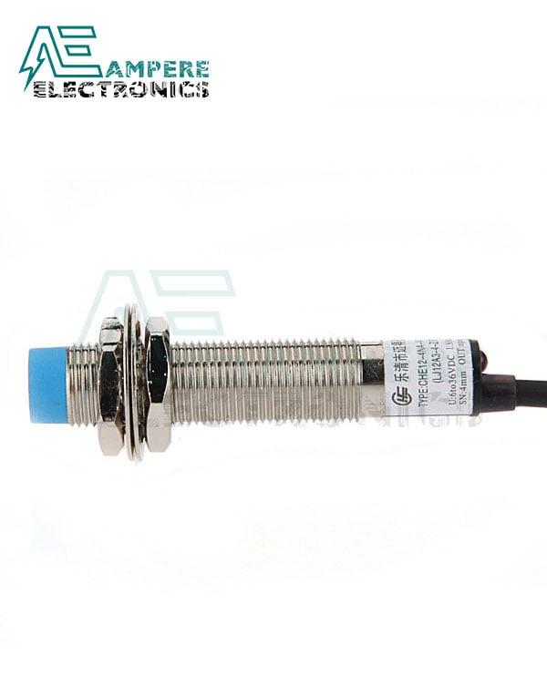 LJ12A3-4-Z Proximity Sensor, PNP, 12mm Dia, 4mm, 3-Wire, DC6-36V