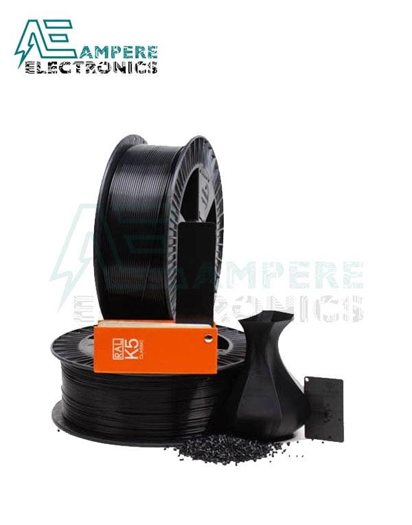 MAXWELL Black Color PLA Filament 1.75mm – 1kg/Roll