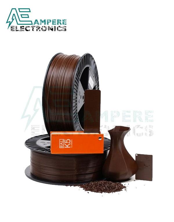 MAXWELL BROWN Color PLA Filament 1.75mm – 1kg/Roll