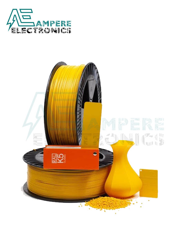 MAXWELL DARK YELLOW Color PLA Filament 1.75mm – 1kg/Roll