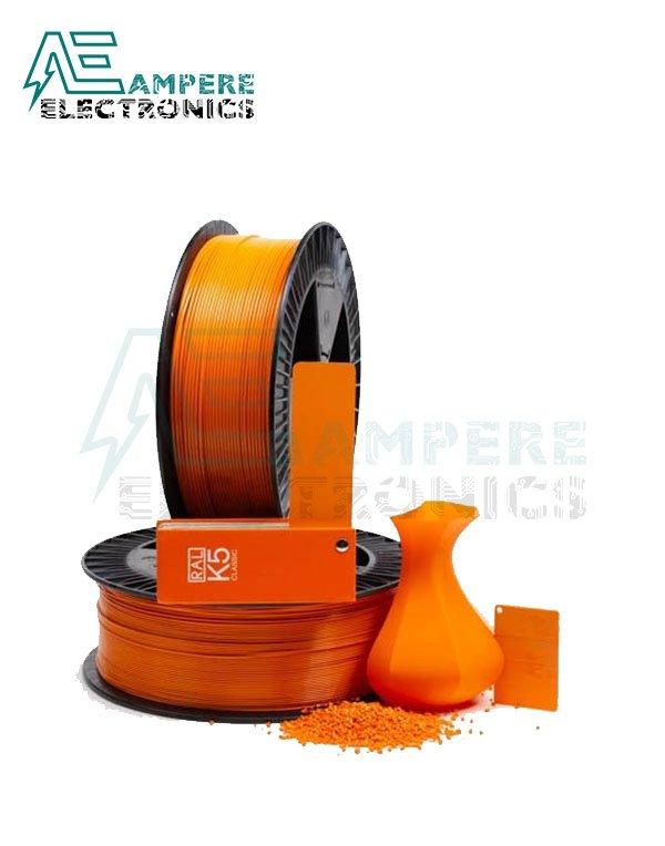 MAXWELL Deep ORANGE Color PLA Filament 1.75mm – 1kg/Roll