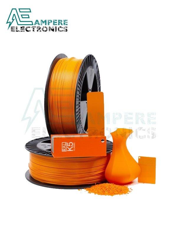 MAXWELL ORANGE Color PLA Filament 1.75mm – 1kg/Roll