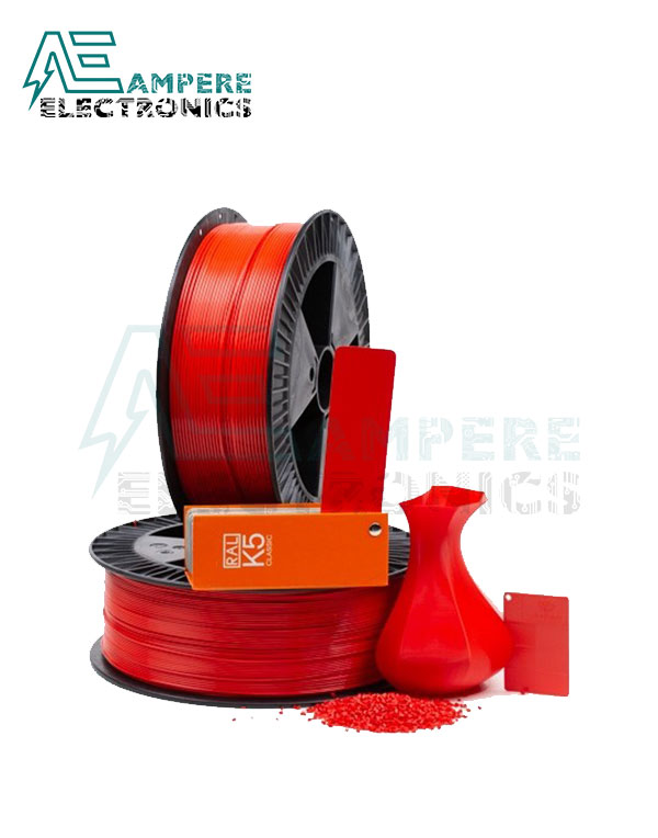 MAXWELL RED Color PLA Filament 1.75mm – 1kg/Roll