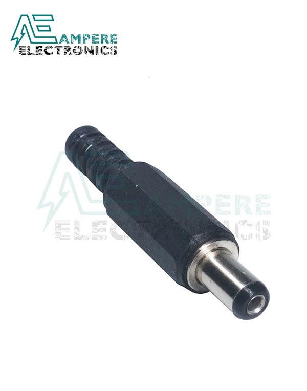 Male DC Power (2.1mm) Jack Plug Socket