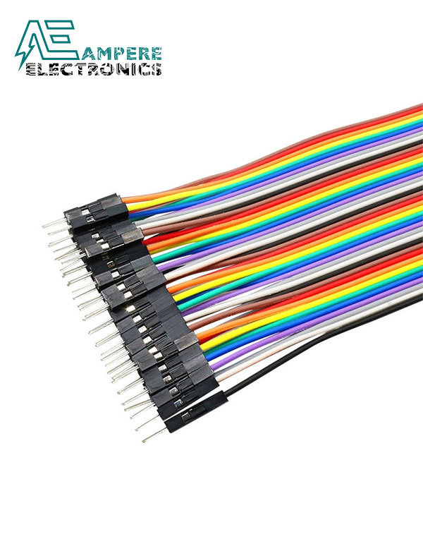Male to Male- 20cm 40 Pin Jumper Wire Set