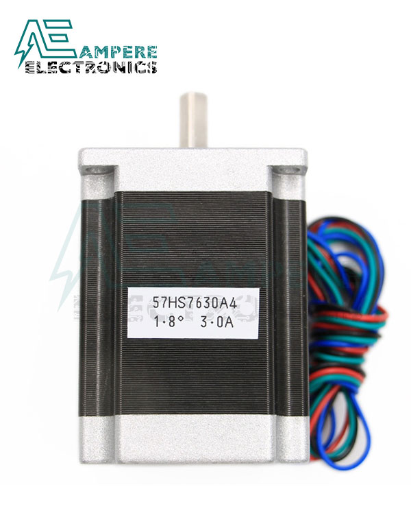 Nema 23, Two Phase Hybrid Stepper Motor 0.9 Degree 76mm 2.8A