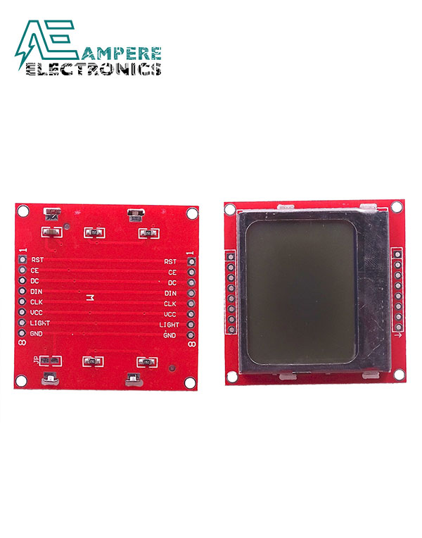 Nokia 5110 – Graphic 84×48 LCD Display Module