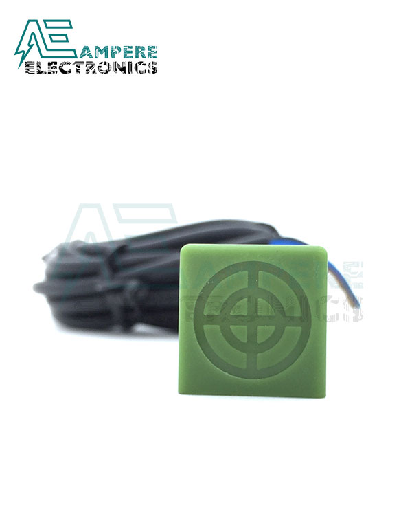 SN04 Square Proximity Sensor, NPN, NO, 5mm. 3 Wire