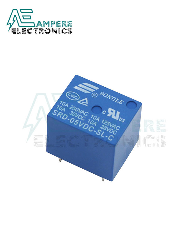 Relay 5Vdc Coil 5pin