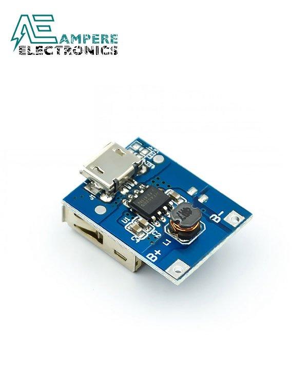 Single USB 5V 1A Mobile Power Bank Module