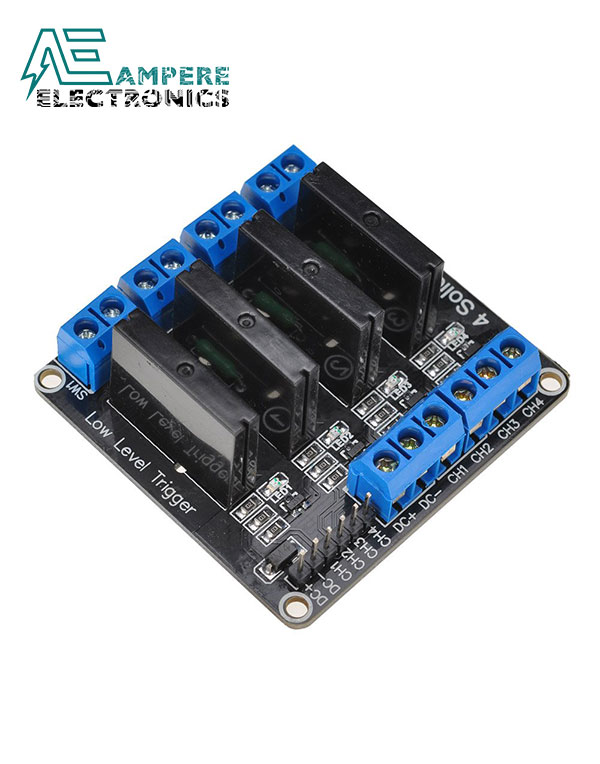 Solid State Relay Module 4 Channel (5Vdc)