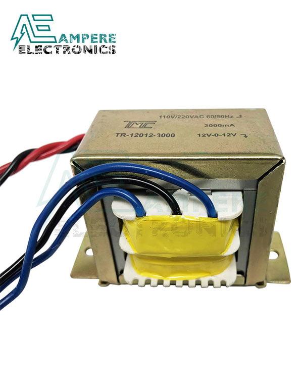 Transformer 2A , (220Vac TO 0-12Vac)