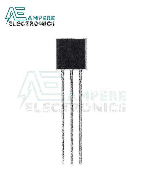 2N7000, N-Channel MOSFET, 200 mA, 60 V, 3-Pin TO-92