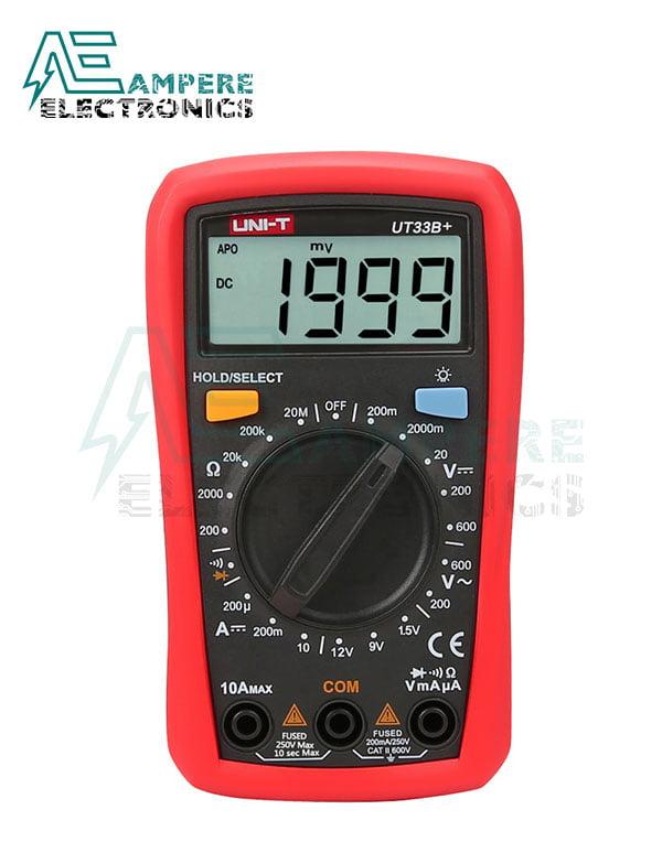 UT33D+ Palm-Size Digital Multimeters | UNI-T