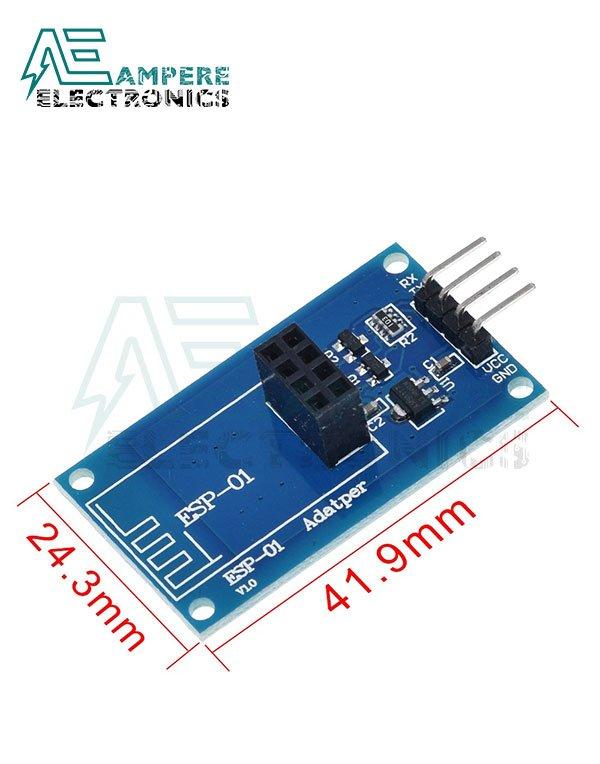 WIFI Serial Module ESP8266 Adapter Board (3.3V 5V)