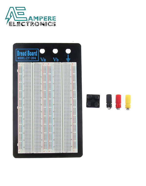 Breadboard Soldless 1660 Tie-points ZY-204