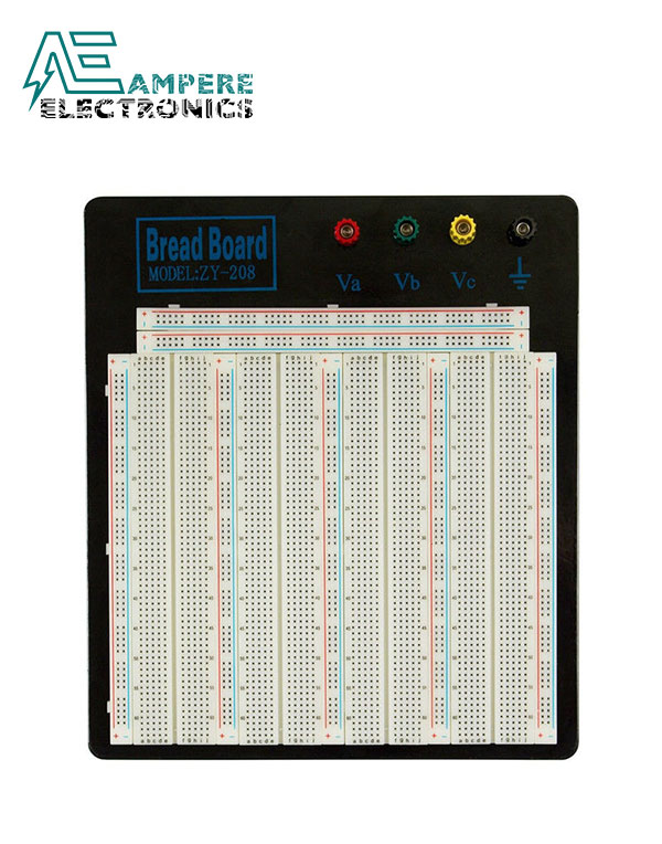 Breadboard Soldless 3220 Tie-points ZY-208