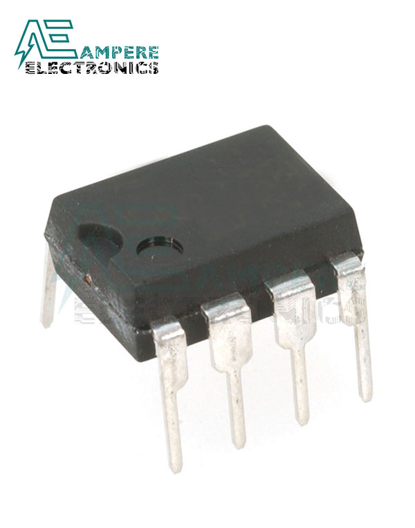 NE555N General Purpose Single Timers, 18V,5MA, 8-Pin PDIP