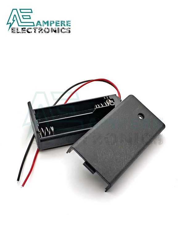 2x AA Battery Holder + On/Off Switch