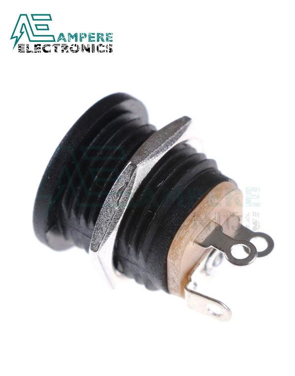 Plastic Box Mount DC Power Socket 2.1mm, 1A