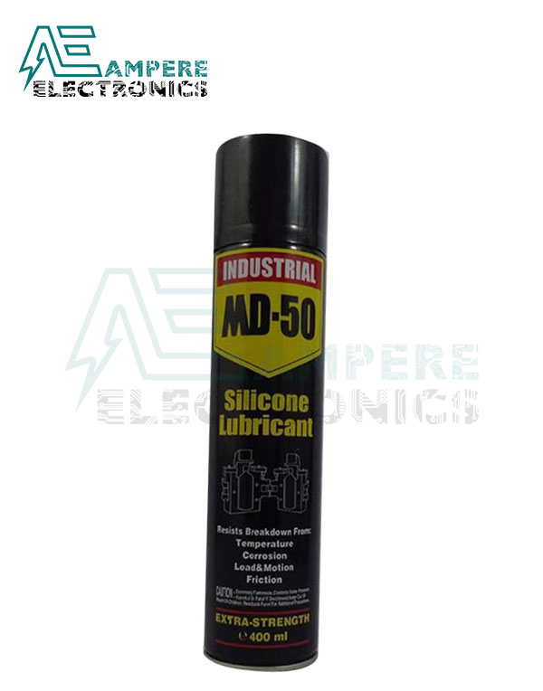 Md-50 Silicone Spray Oil Lubricant Aerosol – 400 Ml