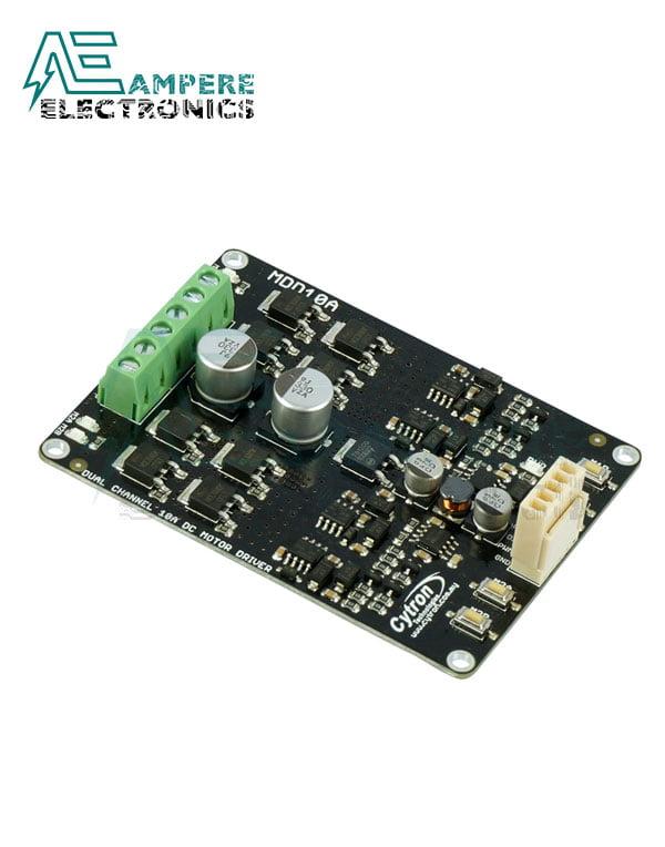 Cytron, 10Amp 5V-30V DC Motor Driver (2 Channels), MDD10A